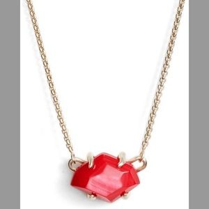 Kendra Scott Ethan red necklace